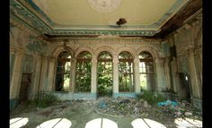 Deserted Places: An abandoned railway station in Abkhazia