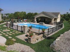 Pool Patio Backyard On Pinterest Stamped Concrete Patios