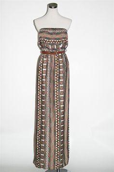 Mexi Maxi Dress - Taupe