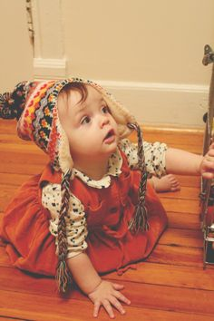 again with the rockstar diaries baby.... but she's so cute. my babies will be this cute.
