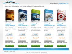 Ashampoo® te regala 5 programas con valor de $124.95 USD gratis [Oferta limitada]
