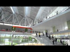 Inside the planned new Cornell University campus in NYC