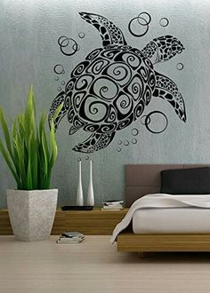 Here is Cute Turtle Bedroom Wall Decal Ideas for Nursery Photo Collections at Bedroom Wall Catalogue. More Collections Turtle Bedroom Wall Decal can you found at her Decoration, Art Decor, Room Decor, Removable Vinyl Wall Decals, Wall Stickers, Living Room Bedroom, Bedroom Wall, Vinyl Dekor, Ideas Decorar Habitacion