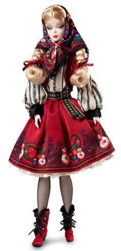 "Russian ""Mila"" (2011) Silkstone Barbie"