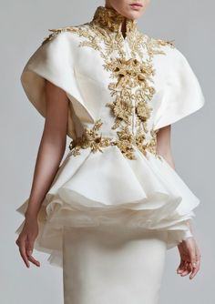 Krikor Jabotian couture..