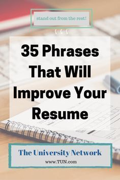 Phrases That Will Improve Your Resume Here are some ways to amplify your resume to make you more appealing and stand out from the rest!Here are some ways to amplify your resume to make you more appealing and stand out from the rest! Cover Letter Template, Cover Letter Tips, Cover Letter For Resume, Cover Letters, Resume Writing Tips, Resume Skills, Resume Ideas, Resume Advice, Writing Skills
