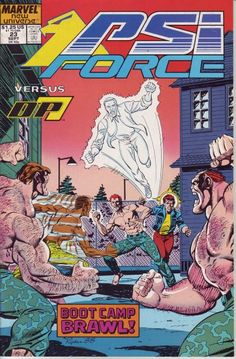 PSI-Force # 23 by Paul Ryan