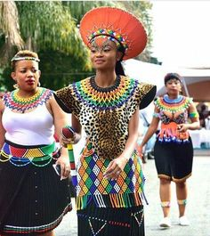 Gorgeous Clothes on african fashion outfits 152 Zulu Traditional Attire, Zulu Traditional Wedding, South African Traditional Dresses, Traditional Outfits, African Wedding Attire, African Attire, African Wear, African Dress, African Style