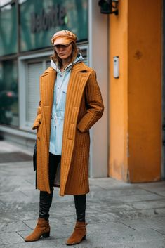 """These Milan Fashion Week Street Style Moments Will Have You Saying, """"What Runway?"""" Image Source: Style Du Monde"""