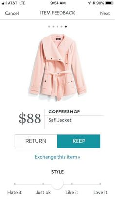 LOVE LOVE LOVE THIS!!!! Dear Stitch Fix Stylist, PLEASE send me this in my next Fix!!!!
