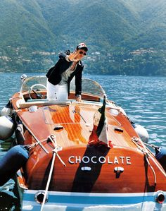 A boat called Chocolate