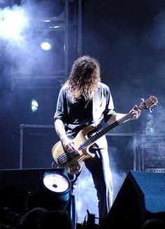 Justin Chancellor is the UK born bass player for Tool. Justin Chancellor, Maynard James Keenan, Tool Band, Alex Grey, A Perfect Circle, Music People, Weird World, Death Metal, Great Bands