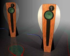Interesting set of speakers using a Saba woofer and ribbon tweeter.