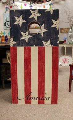 Americana Corn-hole Set
