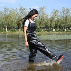 Waterproof Fishing Boots Wader For Fishing Waders Fishing Shoes Fish Overalls Breathable Chest Waders Wading Boots Wading Shoes Fishing Shoes, Fishing Outfits, Anorak Jacket Green, Pvc Hose, Country Wear, Wellies Boots, Rain Wear, Best Fishing, Fishing Equipment