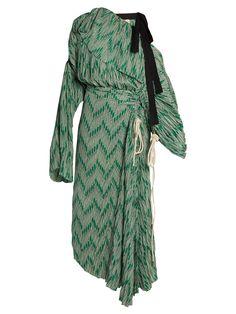 Off-the-shoulder crepe midi dress | Marni | MATCHESFASHION.COM US