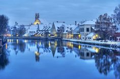 Landshut, a winter wonderland just outside Munich!!
