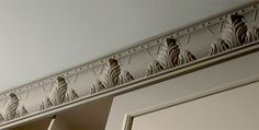 large decorative crown molding