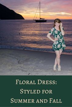 show me your mumu bennet babydoll dress forest florist cloud, saint lucia, sugar beach a viceroy resort, the art of versatility, floral dress styled for summer and fall, styling tips, investment shopping