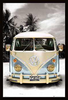 California Camper VW Bus (24x36)