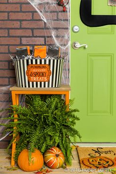 make your doorstep the talk of the town with spooky cute decor halloween trickshalloween 2016spooky