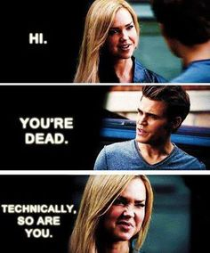 I LOVE LEXI!!! They need to bring her back, she's like Stefan's missing half, when he doesn't have her he turns feminine..