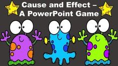 Jul 2, 2020 - This alien themed game reviews the concept of cause and effect. It includes the following components:**Explanation of cause and effect.**Round 1: The students will be give seven cause and effect scenarios. A possible effect will follow the cause so the students will get instant feedback. The caus... Reading Resources, Math Resources, Powerpoint Games, Teaching Secondary, Team Games, Teaching Language Arts, Teaching Tools, Teaching Ideas, Readers Workshop