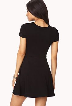 Mattelassé Skater Dress | FOREVER21 - 2040495234
