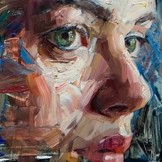 Amazing paintings done by Abstract Portrait, Portrait Art, Amazing Paintings, Amazing Art, Painting Inspiration, Art Inspo, Figure Painting, Art Techniques, Art Oil