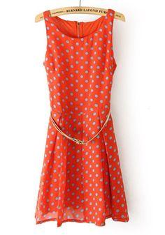 vintage inspired summer dots~