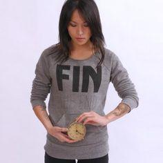 cool sweatshirt (yes, sweatshirt!)