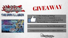 Διαγωνισμος:Yu-Gi-Oh! The Dark Illusion  1. Like eFantasy.gr FB page 2. Tag έναν φίλο με comment 3. Δήλωσε πως θα πας στο event Sneak Peek The Dark Illusion του eFantasy.gr https://www.facebook.com/events/1576007196029191/