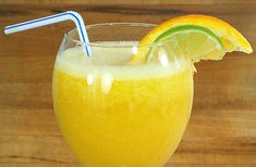 Orange Lime Ginger Blast - A Cold Remedy - Really clears up a sore throat fast.