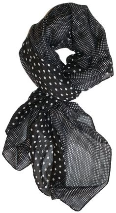 Fashion Polka Dot Crinkle Scarf just $6.99 shipped! - The Budget Bandit