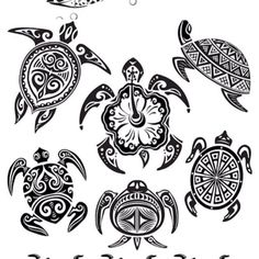 Hawaiian Sea Turtle Tattoos | More Tattoos Pictures Under: Turtle Tattoos