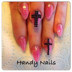 Glitter pink x