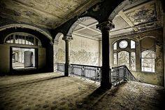 Beelitz Heilstätten.... Berlin Abandoned sanitarium.