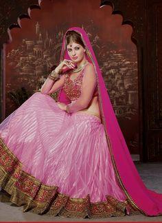 Scintillating Pink Lehenga Choli