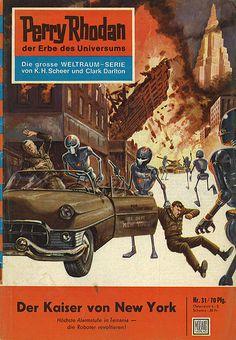 Perry Rhodan 0031 Perry Rhodan / Heft-Reihe Der Kaiser von New York Moewig Verlag (München / Deutschland