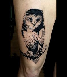 28+ Owl Tattoo Designs, Ideas | Design Trends