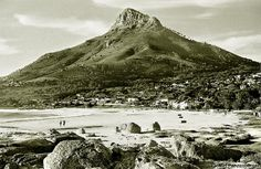 Camps Bay, 1952. | Flickr - Photo Sharing!