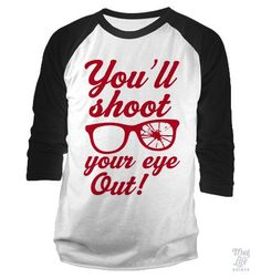 You'll shoot your eye out kid! 100% ring - spun cotton, 30/1's fine knit jersey…