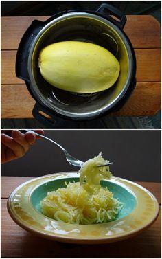 Instant Pot Spaghetti Squash with Duck Fat Apple Juice Glaze | Phoenix Helix