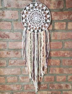BrooklynThread — Crochet Dreamcatcher