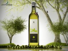 Olive Oil - Product Visualization by Jimmy Ribas, via Behance