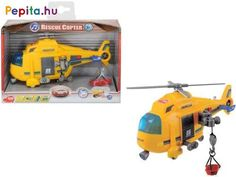 Rescue Coptor includes a manually operated winch, moving rotar, light, sound and more. Rescue Coptor is ideal for imaginary search and rescu. Presents For Kids, Nerf, Education, Toys, Ideas, Toddler Gifts, Gaming, Educational Illustrations
