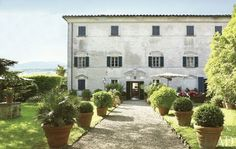 A country house in Tuscany