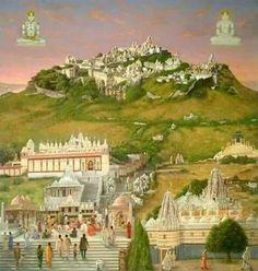 Temple Drawing, Shri Yantra, Jain Temple, Indian Architecture, Mandala Drawing, Indian Paintings, Screen Wallpaper, Tribal Art, Glass Design