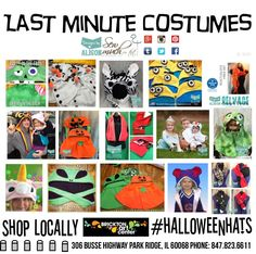 Shop locally for Designs by Alison costumes and more at Brickton Art Center, Park Ridge. Thru 10/31/15 you can find unique costumes and other gifts for the whole family. #designsbyalison #halloween #halloweencostumes #madeinUSA #shopsmall #halloweenhats #costumes #cosplay #zombiecostume #aliencostume #infantcostumes #infantilafcostume #infantzombiecostume #babypumpkincostume #unicorn #Etsy