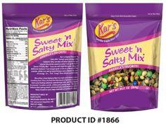 Kar's Nuts Recalling Certain Packages of Sweet 'N Salty Mix